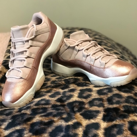 05e8dee1e9e Jordan Shoes   Air 11 Retro Low Rose Gold   Poshmark